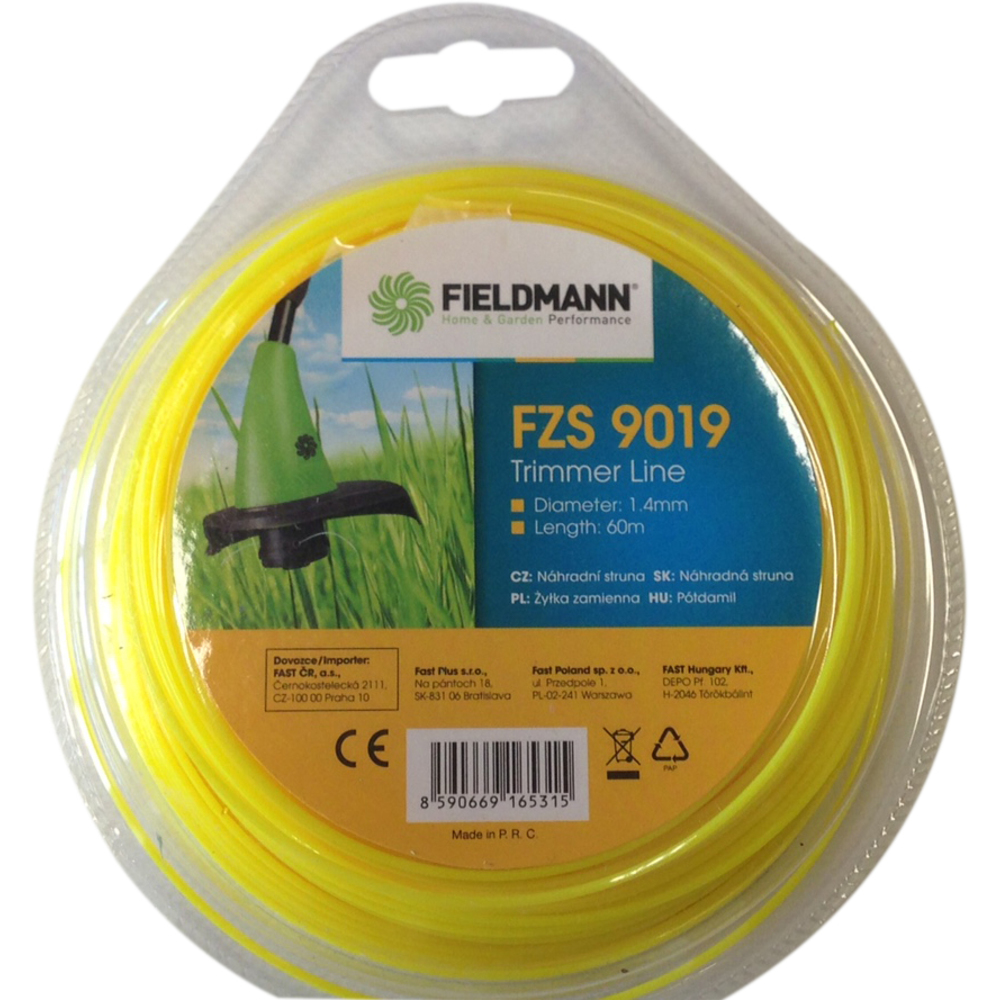 FZS 9019 Struna 60m*1.4mm FIELDMANN